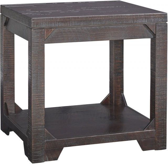 Signature Design by Ashley® Rogness Rustic Brown Rectangular End Table-T745-3