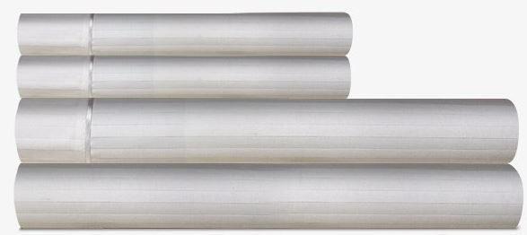 Tempur-Pedic® Egyptian Cotton Dove Grey Twin Sheet Set-40852310