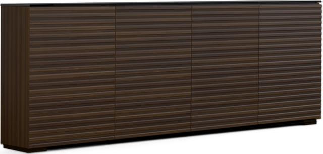 Salamander Designs® Chameleon Zurich Low Profile 347 Opium Brown AV Cabinet-C1/ZU347/OB