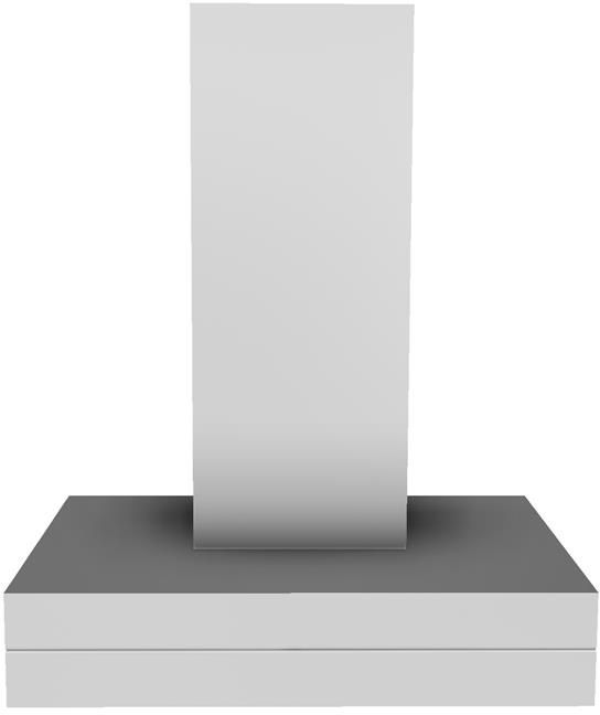 """Vent-A-Hood® 30"""" Stainless Steel Duct Free Wall Mounted Range Hood-CWEAH6-K30 SS"""