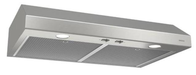 Hotte de cuisinière sous-armoire Broan® de 24 po - Acier inoxydable-BCS324SSC
