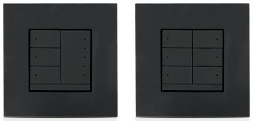 Crestron® Universal Phase In-Wall Dimmer-Anthracite-CLWI-DIMUEX-ANTH