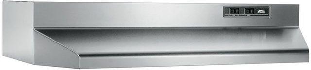 """Broan® 40000 Series 36"""" Stainless Steel Under Cabinet Range Hood-403604"""