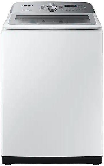 Samsung 5.0 White Top Load Washer-WA50R5200AW