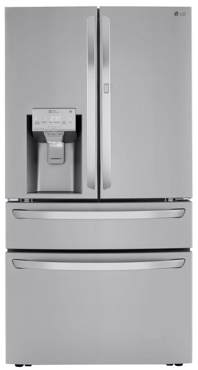 LG 30 Cu. Ft. PrintProof™ Stainless Steel French Door Refrigerator-LRMDS3006S