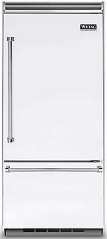 Viking® Professional 5 Series 20.4 Cu. Ft. Built-In Bottom Freezer Refrigerator-White-VCBB5363ERWH
