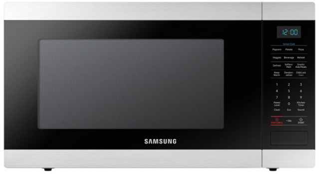 Samsung Countertop Microwave-Stainless Steel-MS19M8000AS