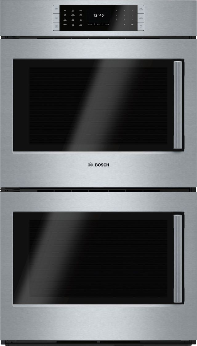 """Bosch Benchmark® Series 29.75"""" Stainless Steel Electric Double Oven Built In-HBLP651LUC"""
