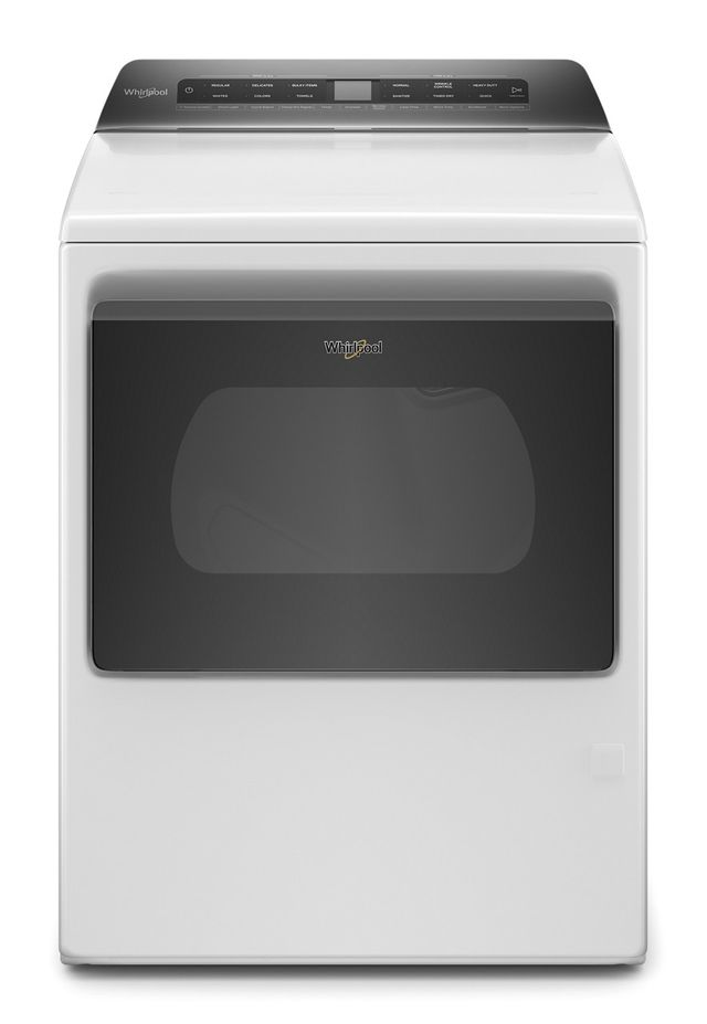 Whirlpool® 7.4 Cu. Ft. White Front Load Gas Dryer-WGD6120HW