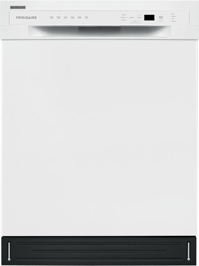 Frigidaire® 24'' White Built In Dishwasher-FFBD2420UW