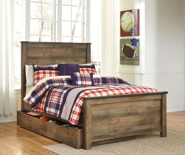 Signature Design by Ashley® Trinell Rustic Brown Under Bed Storage-B446-60