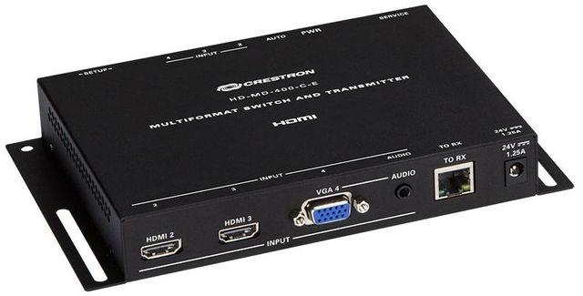 Crestron® DM Lite – HDMI® Over CATx Transmitter and 3 x 1 Auto-Switcher-HD-TX-301-C-E