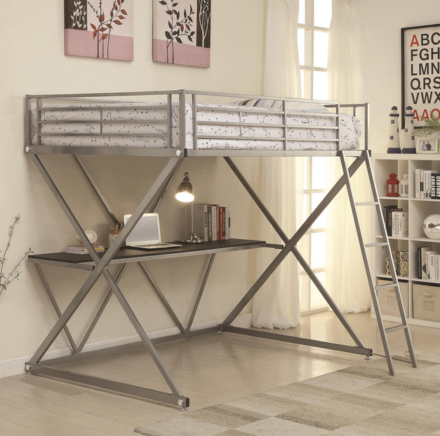 Coaster® B-YOUTH WORKSTATION LOFT BED-BED-400034T