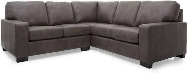 Decor-Rest® Furniture LTD 3A3 Alessandra Connections Brown 2 Piece Sectional Sofa-3A3-07+30