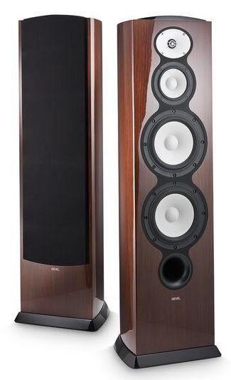 """Revel® F228Be Walnut 3-Way Dual 8"""" Floor Standing Loudspeaker-REVF228BEWAL"""
