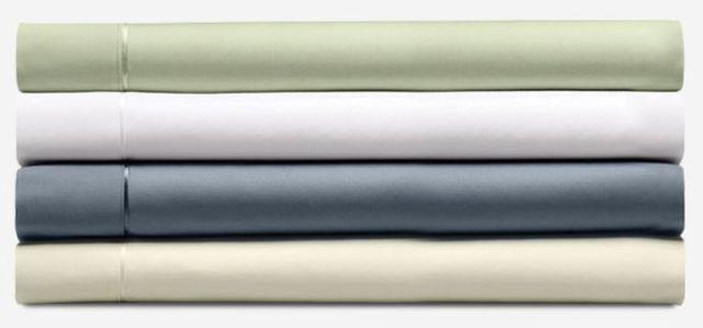 Tempur-Pedic® Pima Cotton White Split Queen Sheet Set-40606460