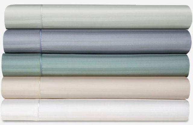 Tempur-Pedic® Egyptian Cotton White Split California King Sheet Set-40607190