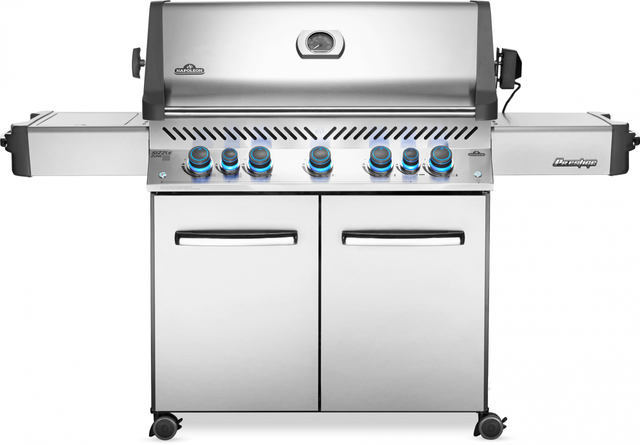 """Napoleon Prestige® Series 75"""" Stainless Steel Free Standing Grill-P665RSIBNSS"""