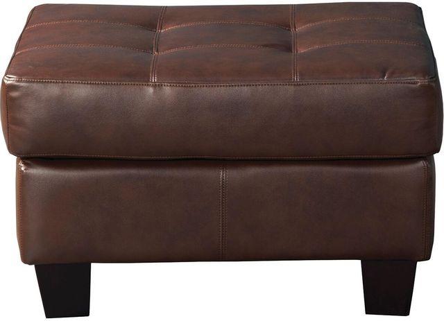 Coaster® Samuel Brown Ottoman-504074
