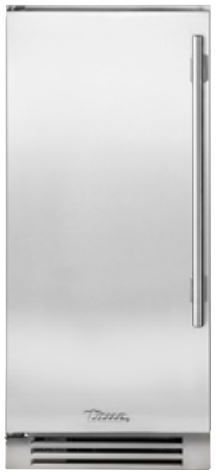 """True® 15"""" Clear Ice Machine-Stainless Steel-TUI-15-L-SS-B"""