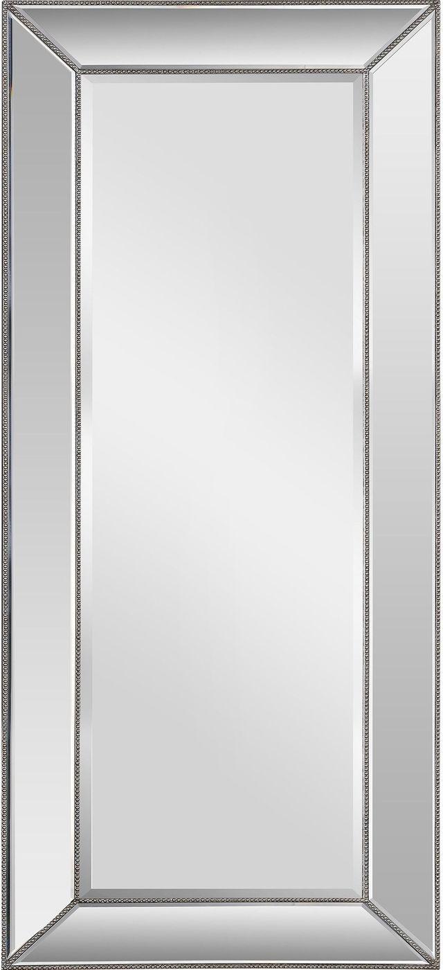 Miroir à l'envers Whitney, champagne silver leaf, Renwil®-MT1637