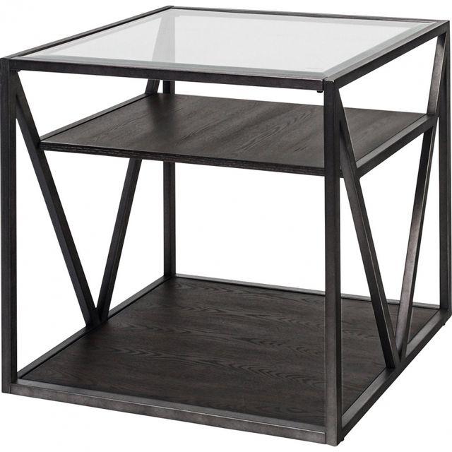 Liberty Furniture Arista Cobblestone End Table-37-OT1020