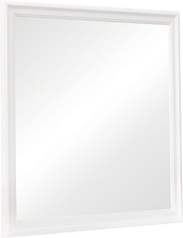 Coaster® Louis Philippe White Mirror-204694