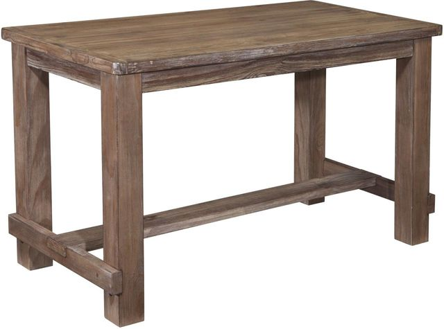 Signature Design by Ashley® Pinnadel Light Brown Rectangular Dining Room Counter Table-D542-13