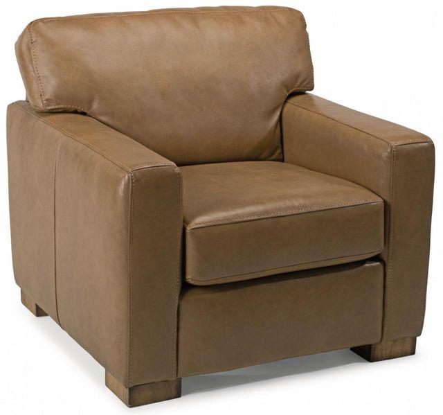 Flexsteel® Bryant Leather Chair-B3399-10
