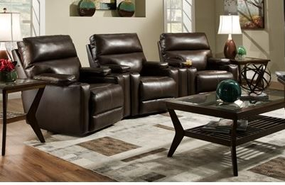 Southern Motion Tango Home Theater Lay Flat Recliner-4141-TANGO