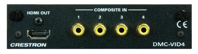 Crestron® Quad Video Input Card-DMC-VID4
