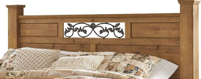 Signature Design by Ashley® Bittersweet Light Brown King Poster Headboard Panel-B219-87