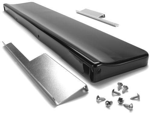 JennAir® Slide In Range Backsplash-Black-UXA9107AAB
