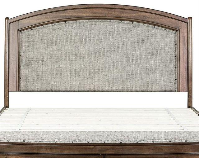 Liberty Furniture Avalon III Pebble Brown King Upholstered Headboard-705-BR24HU