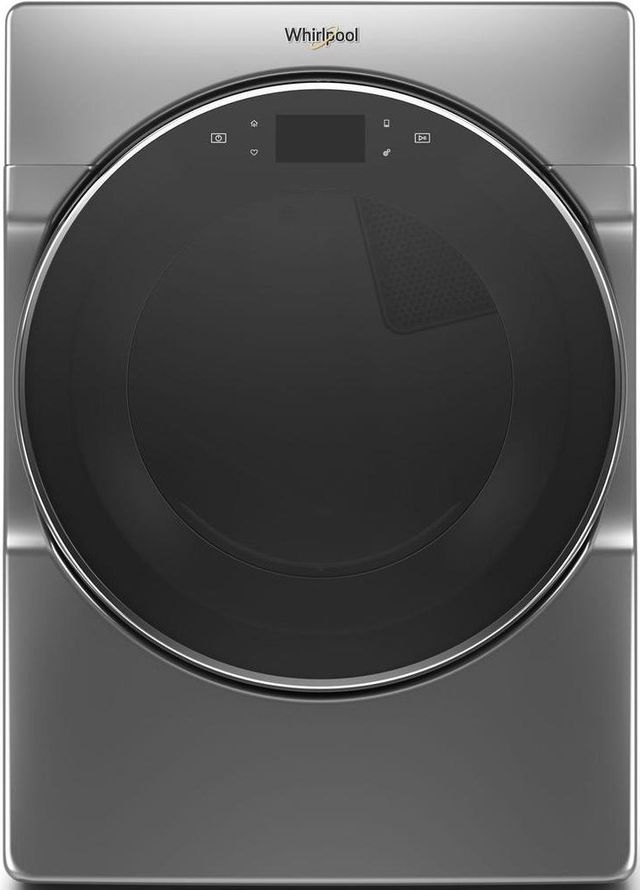 Whirlpool® 7.4 Cu. Ft. Chrome Shadow Front Load Electric Dryer-WED9620HC