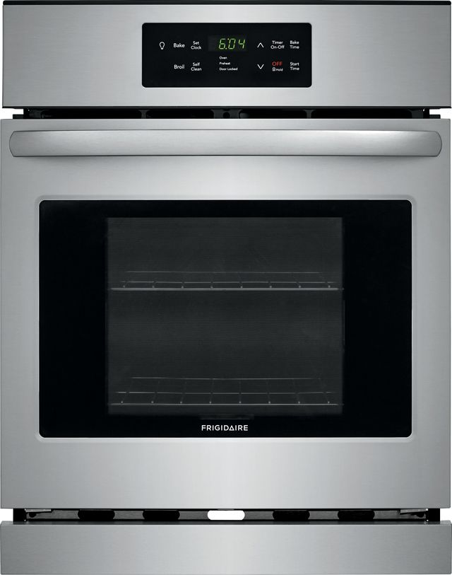 """Frigidaire® 23.88"""" Stainless Steel Electric Single Oven Built In-FFEW2426US"""