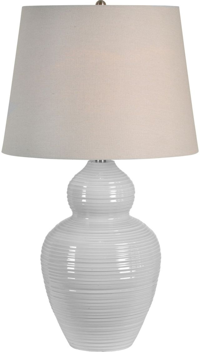 Renwil® Latchmore Light Grey Table Lamp-LPT793