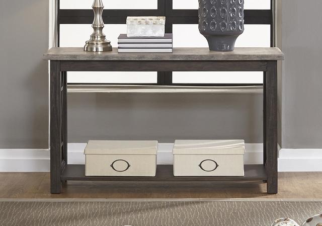 Liberty Furniture Heatherbrook Two-Tone Sofa Table-422-OT1030