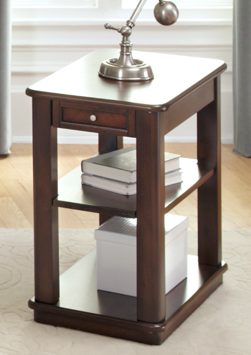 Liberty Furniture Wallace Dark Toffee Chair Side Table-424-OT1021