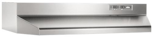 """Broan® 42"""" Under The Cabinet Hood-Stainless Steel-424204"""