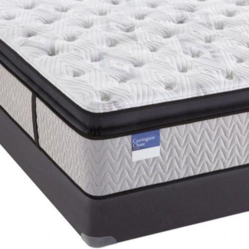 Carrington Chase by Sealy® Tattersall Pillow Top Hybrid Plush King Mattress-TattersallP-K