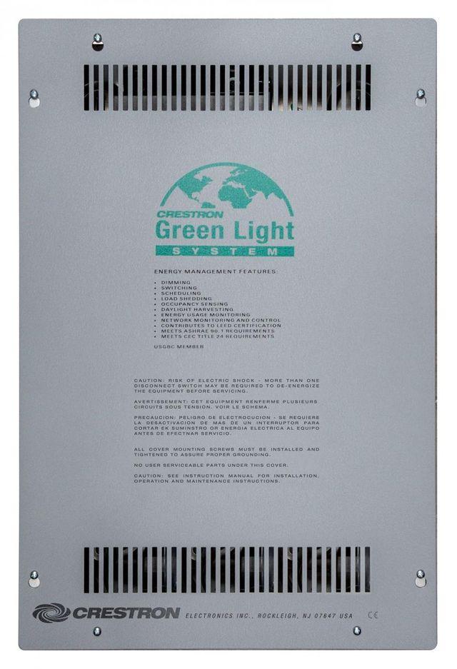Crestron® Zūm™ Basic Lighting Control Processor Panel-GLNET-ZUM