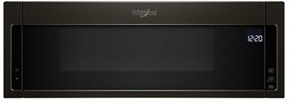 Whirlpool® 1.1 Cu. Ft. Black Stainless Over The Range Microwave-YWML75011HV