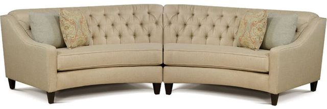 England Furniture® Finneran Medium Brown Sectional-3F00-SECT