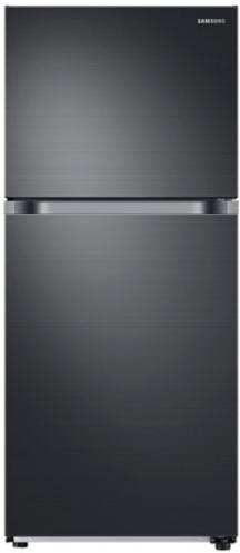 Samsung 18 Cu. Ft. Top Freezer Refrigerator-Fingerprint Resistant Black Stainless Steel-RT18M6215SG