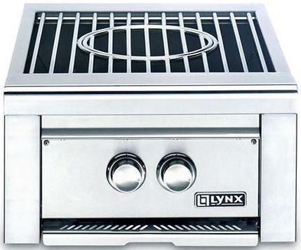 """Lynx Professional Series 19"""" Built In Power Wok Burner-Stainless Steel-LPBNG"""