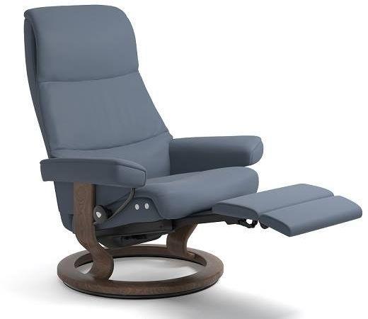 Stressless® by Ekornes® View Large Leg Comfort Recliner-1308715