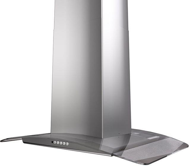 Hotte de cuisinière d'ilôt de 35 po Faber Hoods® - Acier inoxydable-TRATIS36SSV