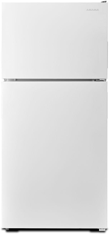 Amana® 18.15 Cu. Ft. White Top Freezer Refrigerator-ART308FFDW