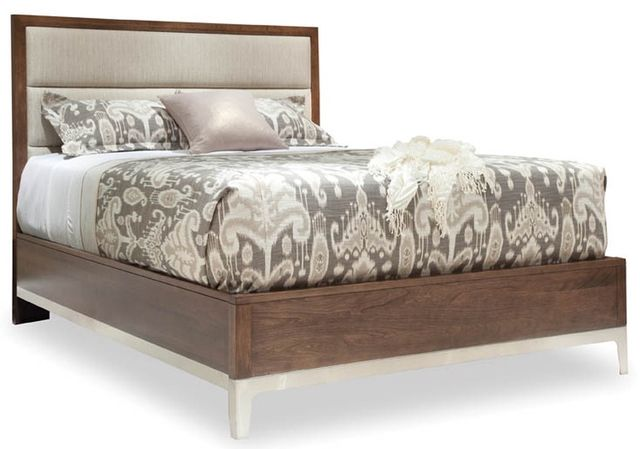 Durham Furniture Defined Distinction Autumn Wind Queen Upholstered Bed-157-123
